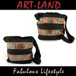 Beuteltasche / India Bag schwarz in verschiedenen Designs