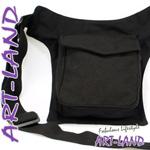 Gürteltasche / Sidebag schwarz