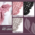 Wunderschöner Herbst-Schal in verschiedenen Farben