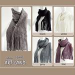 Wunderschöner Winter-Schal in verschiedenen Farben