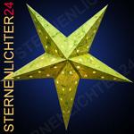 Sternenlicht Green Batik Star