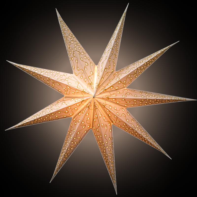 Sternenlicht Melinda weiß 9Zack